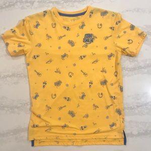 JEM Boys TShirt, Yellow/Gold, Size Medium
